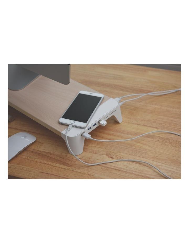 Pallo Woody Fast Charging Hub Monitor Stand image 5