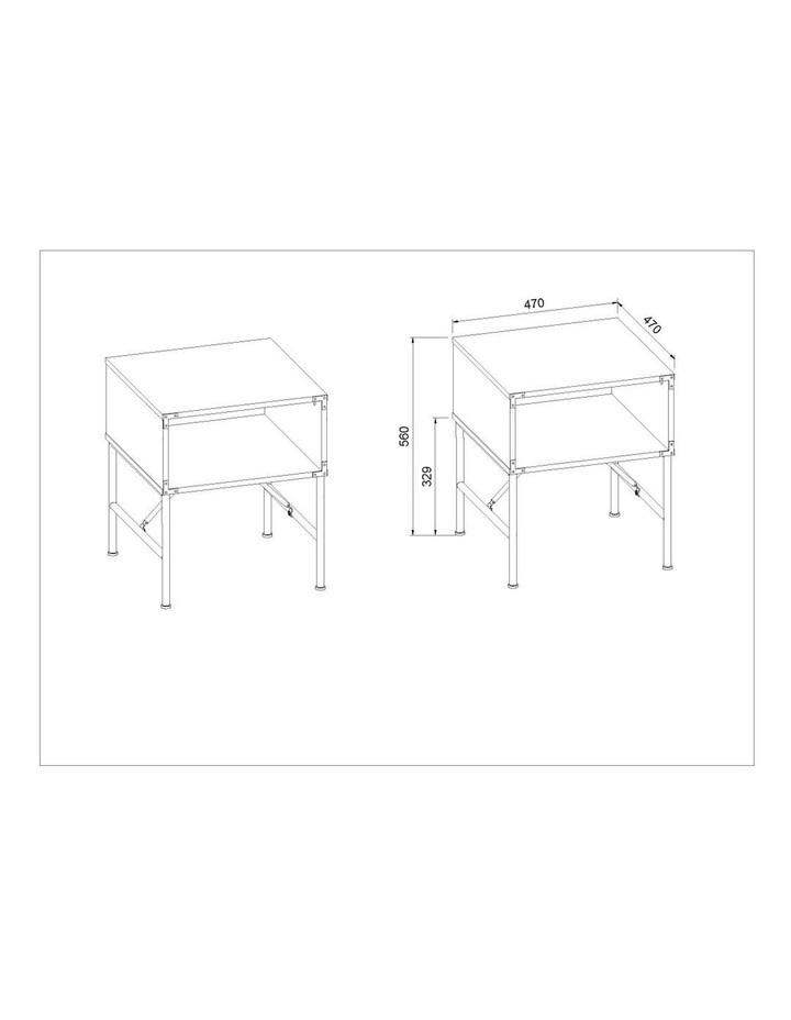 Zona Set of 2 Side Table image 7