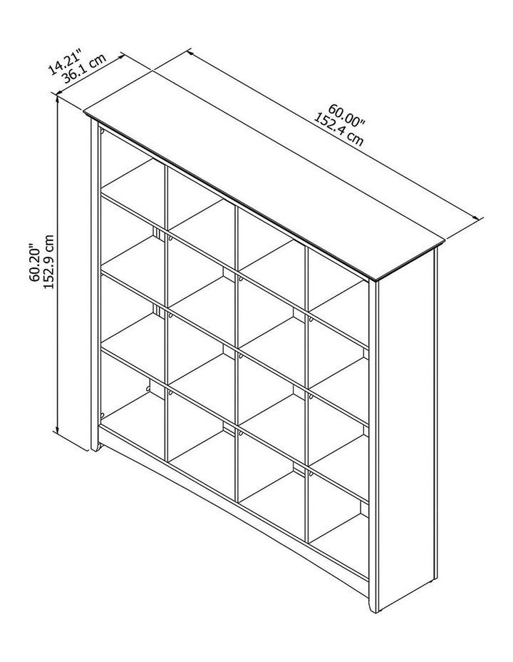 Buena Vista 16 Cube Bookcase image 5