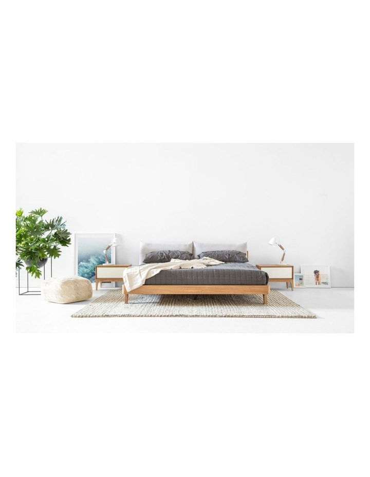Mikkel Queen Bed With Headboard Pillows image 5