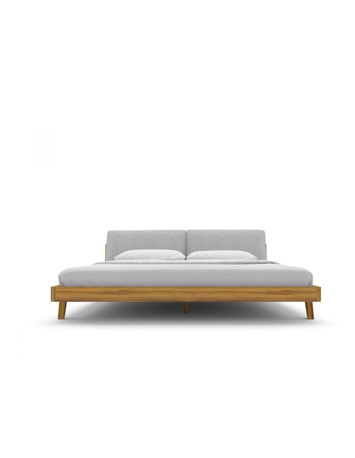 Mikkel King Bed With Headboard Pillows image 2