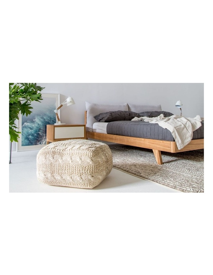 Mikkel King Bed With Headboard Pillows image 4
