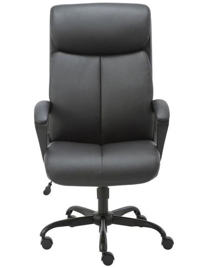Puresoft PU-Padded High-Back Office Chair image 1