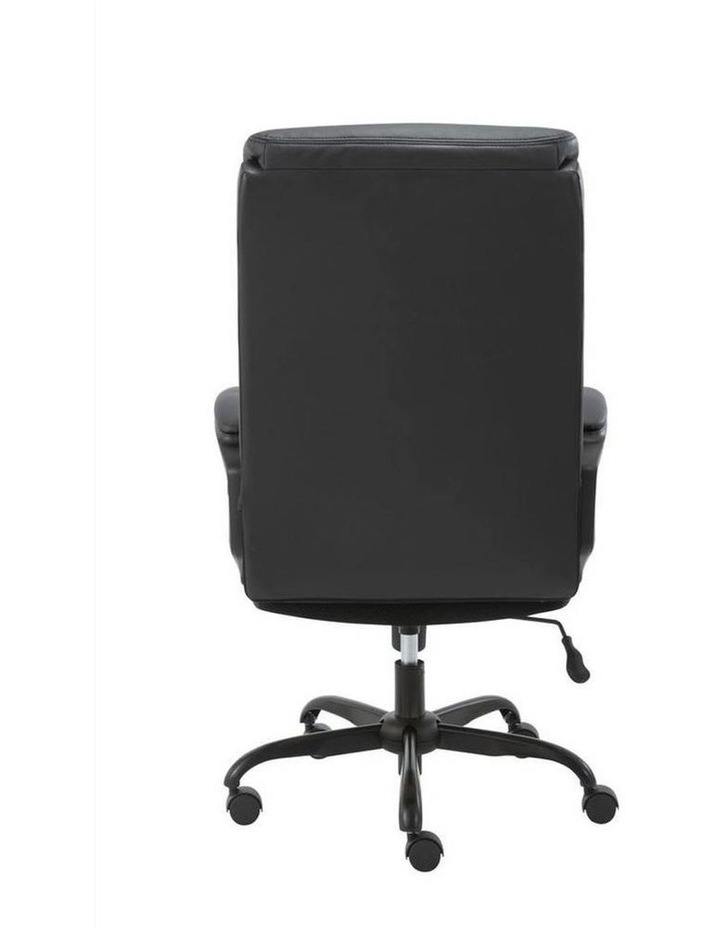 Puresoft PU-Padded High-Back Office Chair image 3