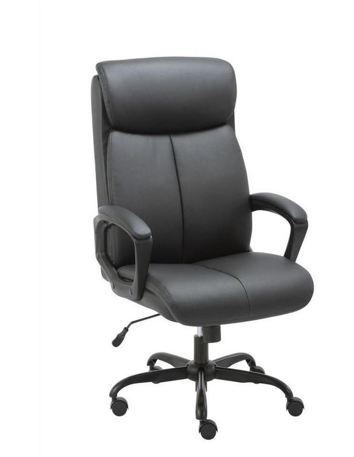 Puresoft PU-Padded High-Back Office Chair image 4