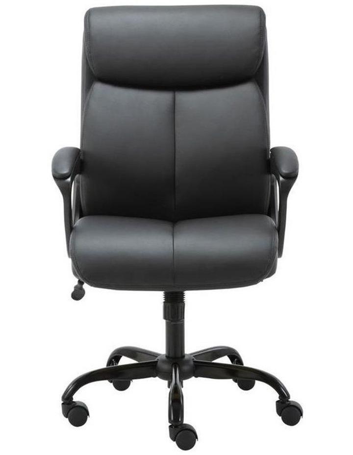 Puresoft PU-Padded Mid-Back Office Chair image 1