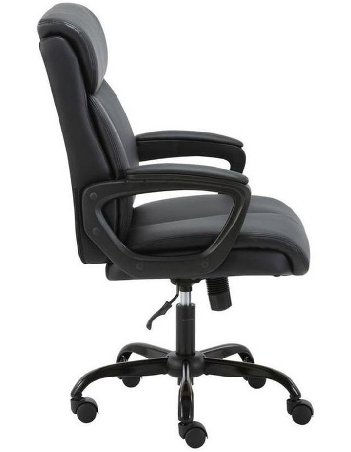 Puresoft PU-Padded Mid-Back Office Chair image 2