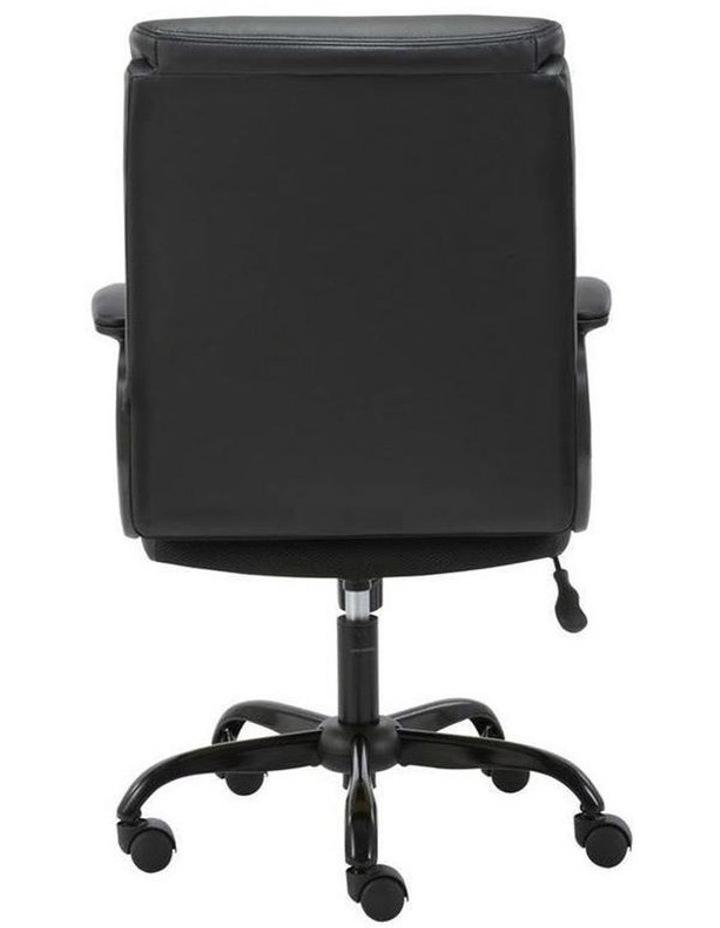 Puresoft PU-Padded Mid-Back Office Chair image 3