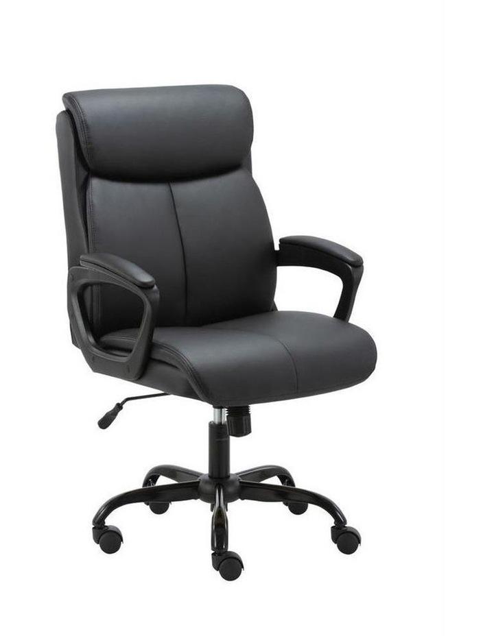 Puresoft PU-Padded Mid-Back Office Chair image 4