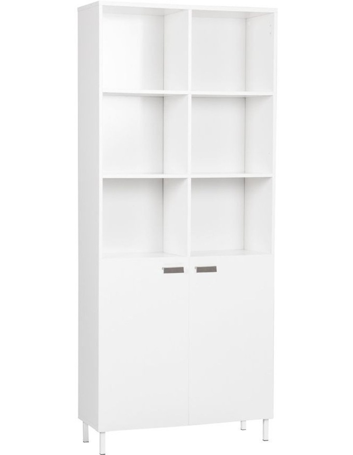 10 Cube Bookcase with 2 doors image 1