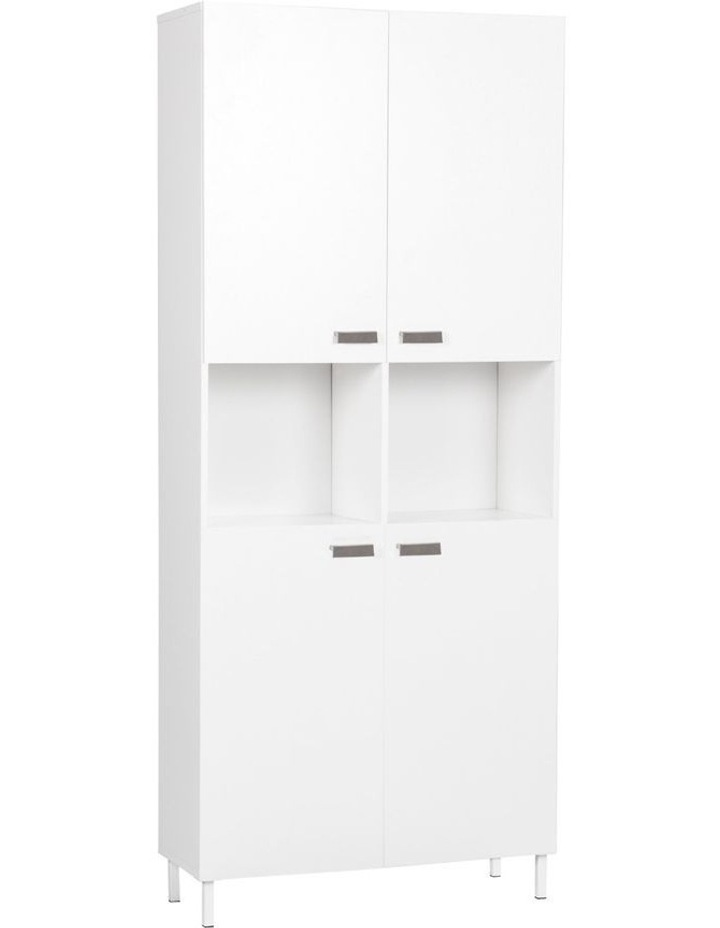 Ella Cube Bookcase with 4 doors image 1