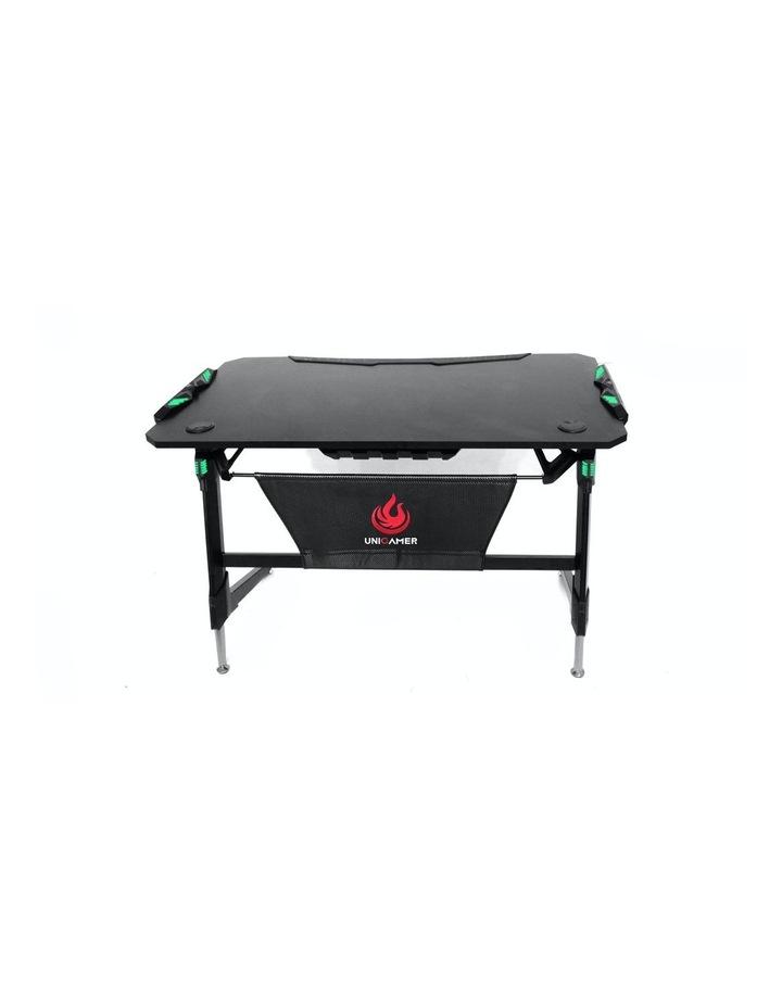 RBB Ergonomic Gaming Desk In Black image 2