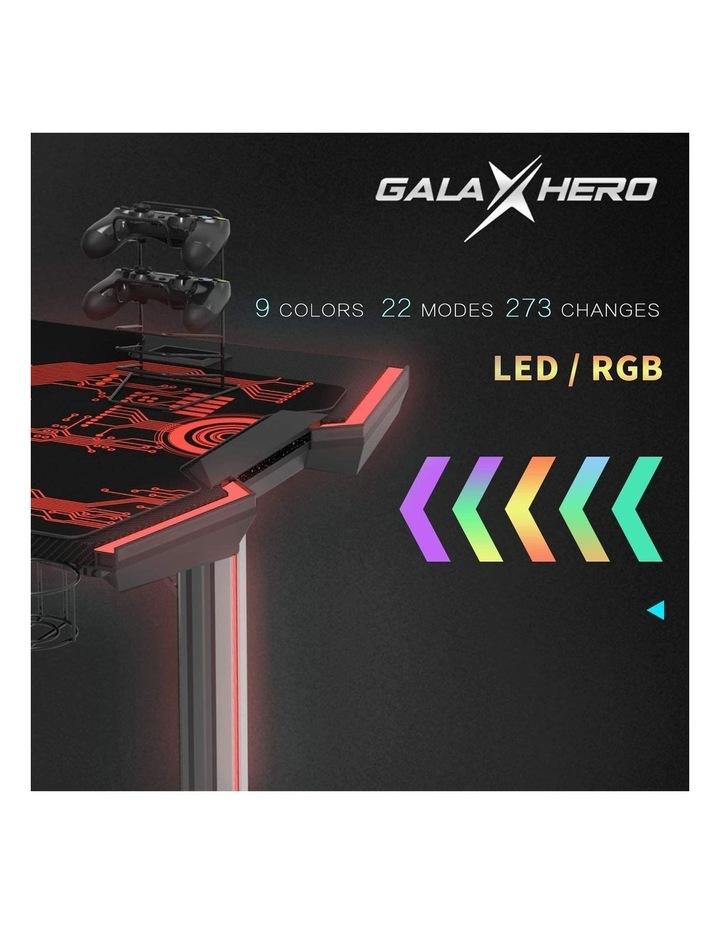 GalaHero 1.6m RGB Ergonomic Gaming Desk image 3