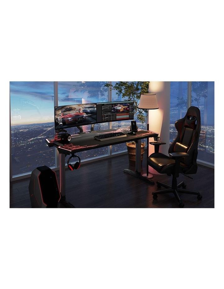 GalaHero 1.6m RGB Ergonomic Gaming Desk image 6