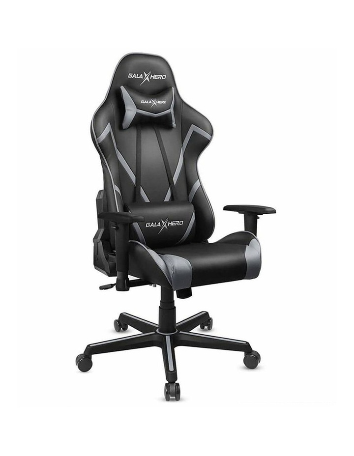 GalaHero Ergonomic Racing Style Gaming Chair in Grey image 1