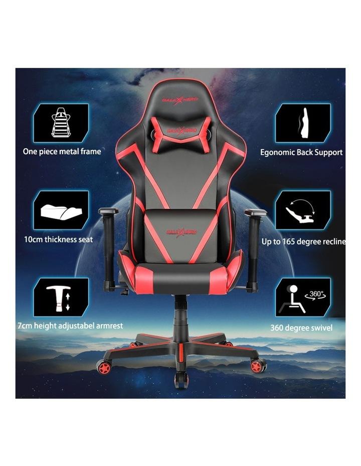 GalaHero Ergonomic Racing Style Gaming Chair in Grey image 5