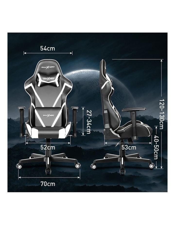 GalaHero Ergonomic Racing Style Gaming Chair in Grey image 6