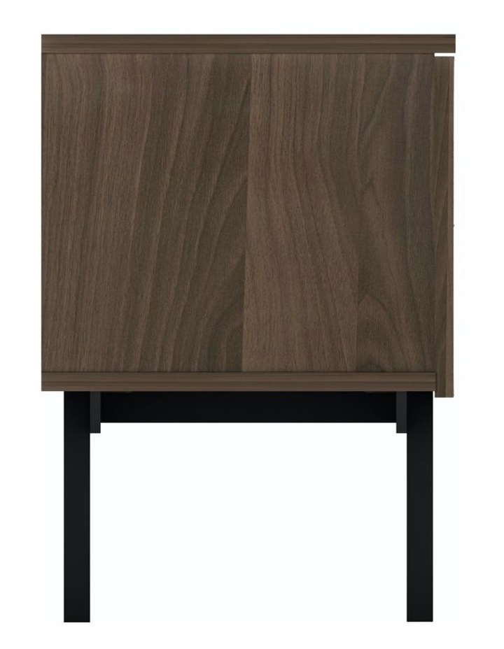 MIA Pre-Assembled TV Unit in Walnut And Grey image 3
