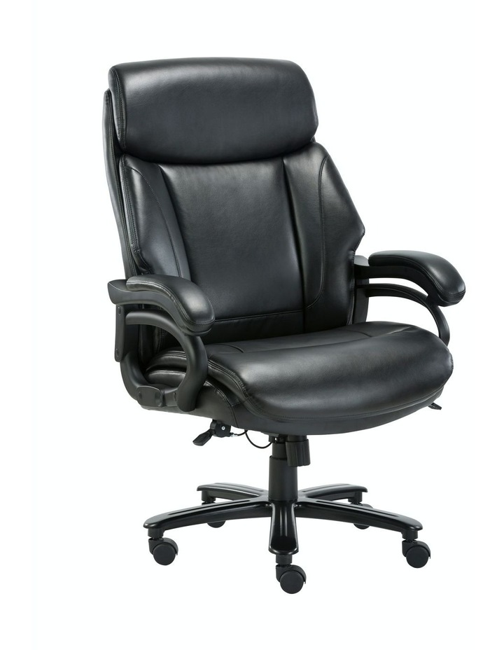 Innovative Comfort Coils High Back Big & Tall 180KG Bonded Leather Office Chair image 1
