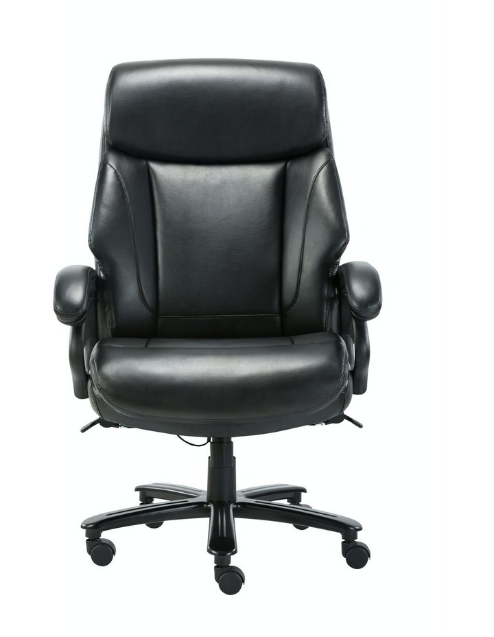 Innovative Comfort Coils High Back Big & Tall 180KG Bonded Leather Office Chair image 2