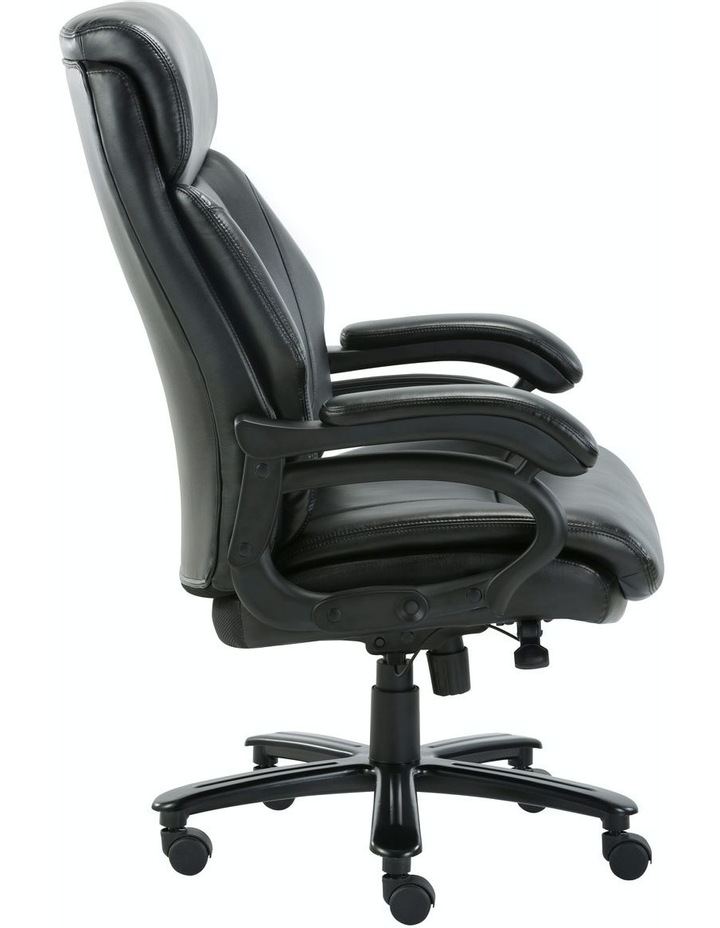 Innovative Comfort Coils High Back Big & Tall 180KG Bonded Leather Office Chair image 3
