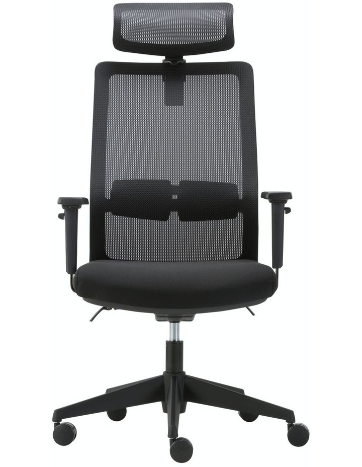 MIRO5 Ergonomic Mesh Executive Chair with 3D Arm Rest and Adaptive Synchronize Seat High Back Swivel for Home Office image 1