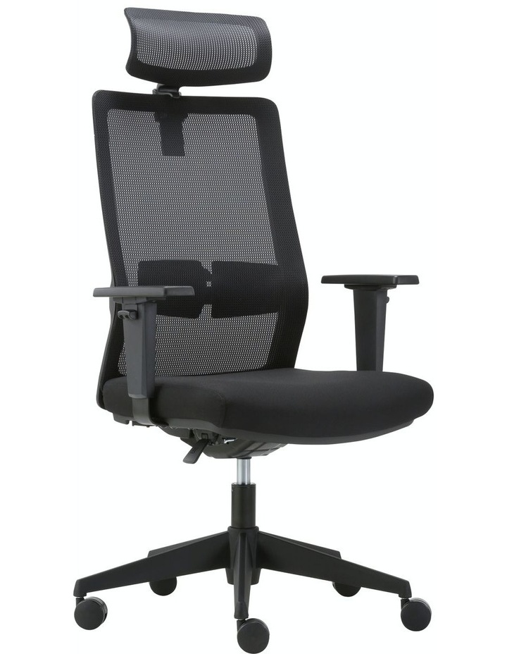 MIRO5 Ergonomic Mesh Executive Chair with 3D Arm Rest and Adaptive Synchronize Seat High Back Swivel for Home Office image 2