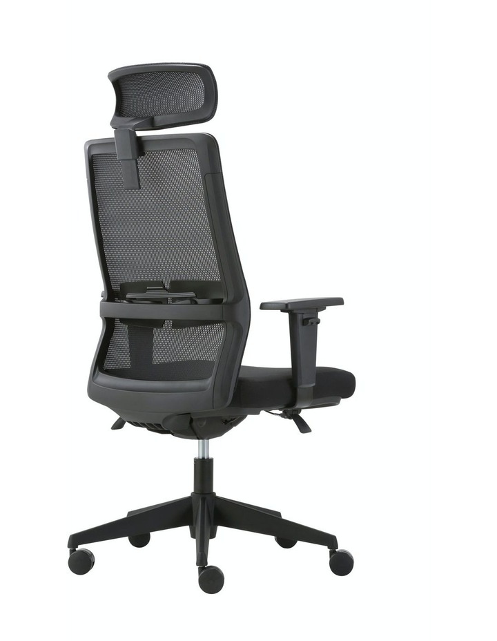 MIRO5 Ergonomic Mesh Executive Chair with 3D Arm Rest and Adaptive Synchronize Seat High Back Swivel for Home Office image 4