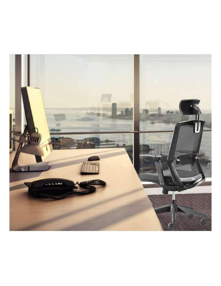 MIRO5 Ergonomic Mesh Executive Chair with 3D Arm Rest and Adaptive Synchronize Seat High Back Swivel for Home Office image 7