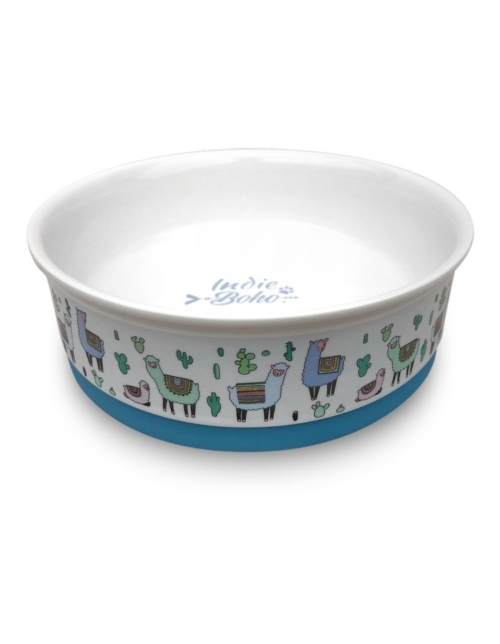 Alpaca Family Designer Pet Bowl Set image 4