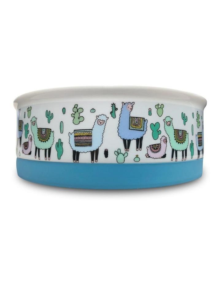 Alpaca Family Designer Pet Bowl Set image 5