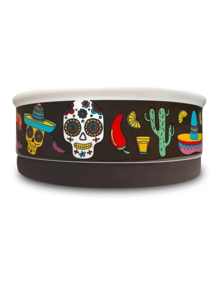 Mexican Skull Designer Pet Bowl Set image 4