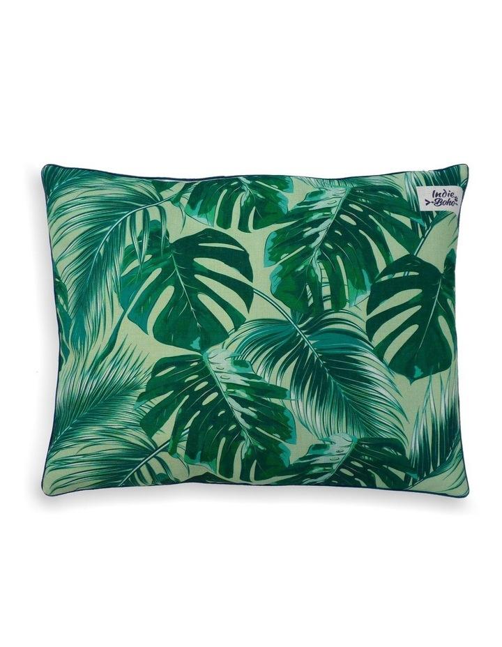Tropical Leaves  Large Dog Bed image 1