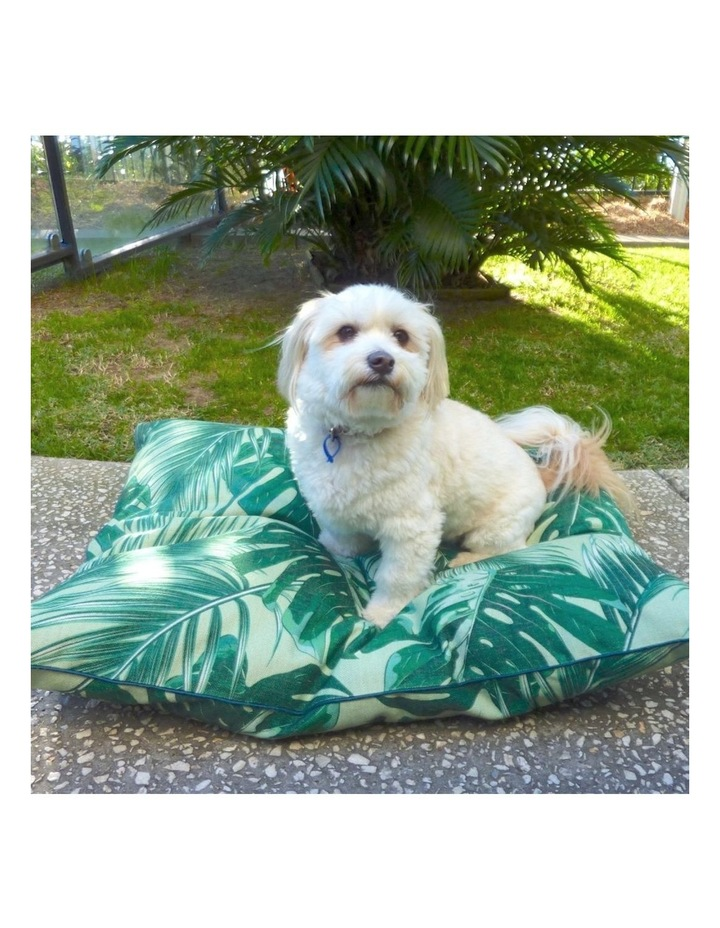 Tropical Leaves  Large Dog Bed image 3