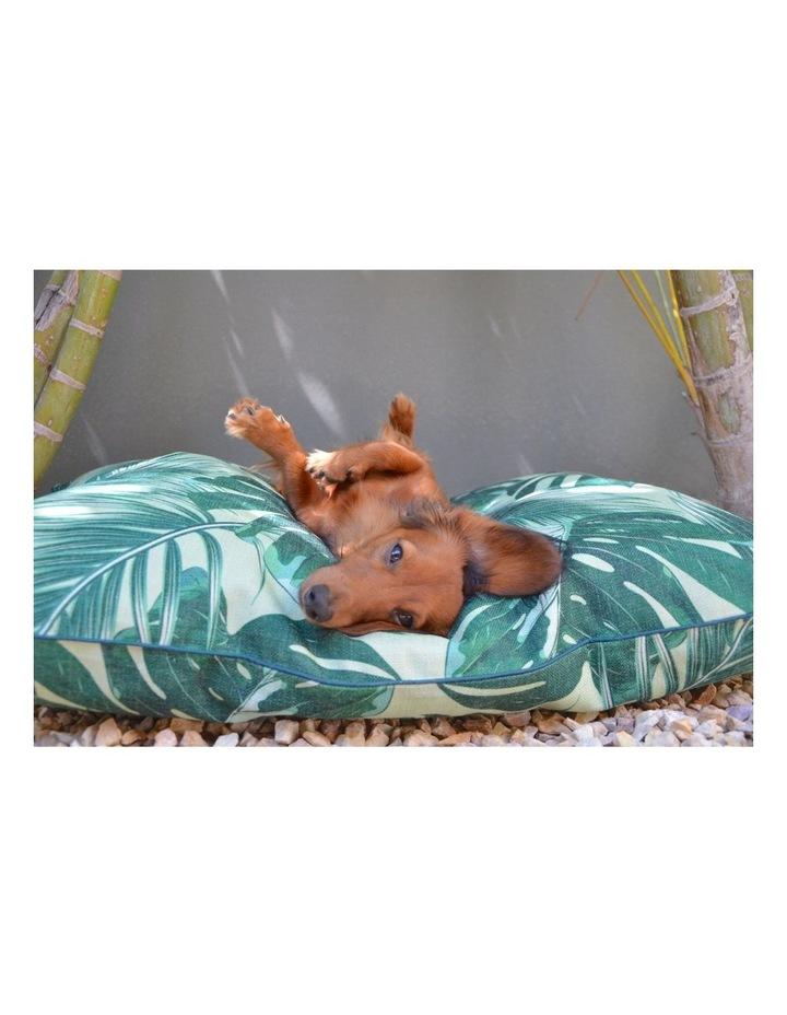 Tropical Leaves  Large Dog Bed image 4