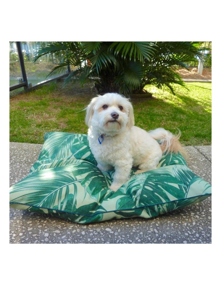Tropical Leaves  Extra Large Pet Bed image 4
