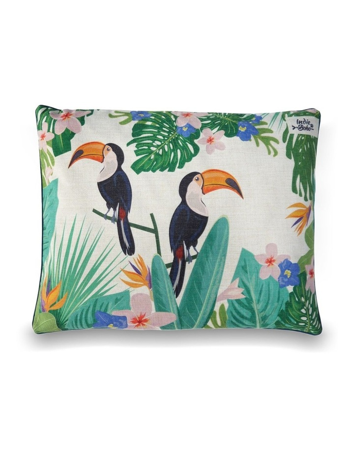 Flamingo Paradise  MEDIUM Dog Bed image 1