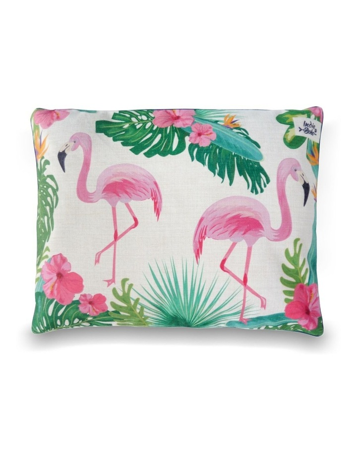 Flamingo Paradise  MEDIUM Dog Bed image 2