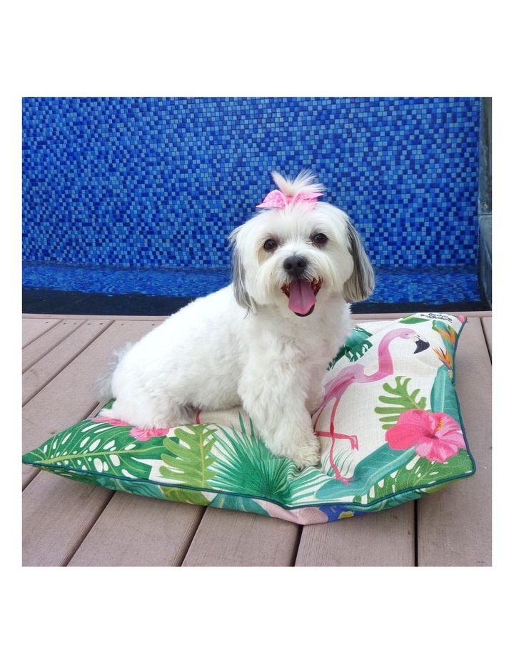 Flamingo Paradise  MEDIUM Dog Bed image 4