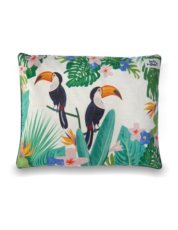 Flamingo (Toucan) Paradise  LARGE Dog Bed image 2