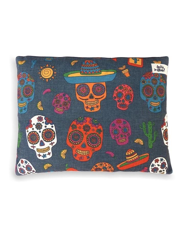 Mexican Skulls  MEDIUM Dog Bed image 1