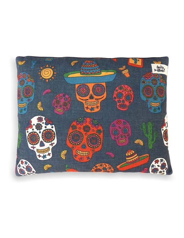 Mexican Skulls  LARGE Dog Bed image 1