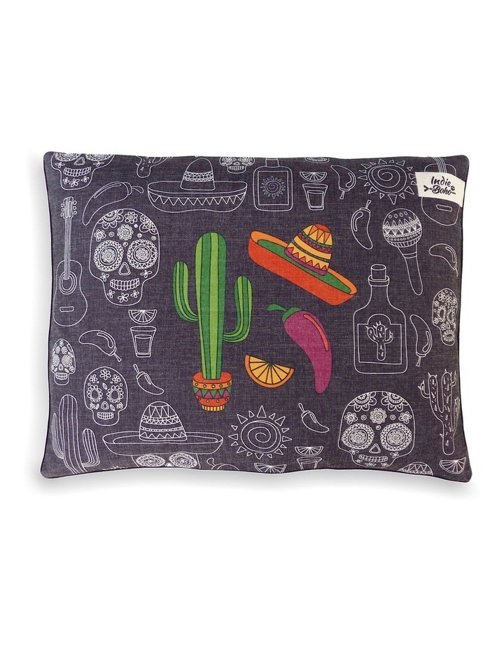 Mexican Skulls  LARGE Dog Bed image 2