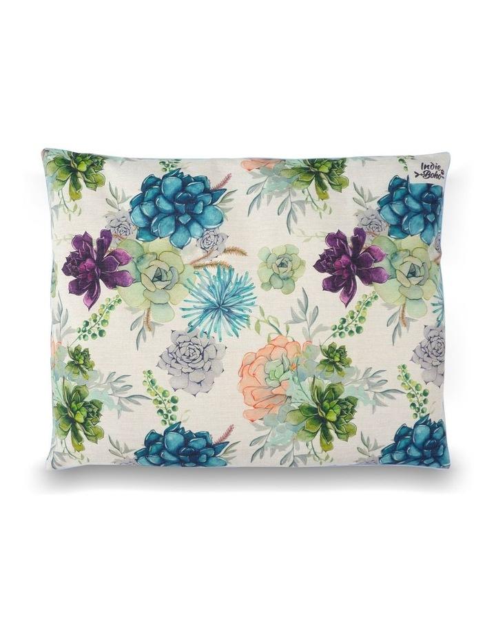Succulent Medley  LARGE Dog Bed image 1