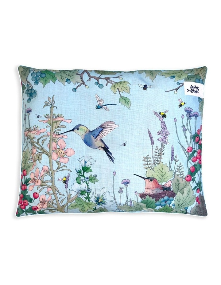 Fleur's Hummingbird Fields - LARGE Dog Bed image 1