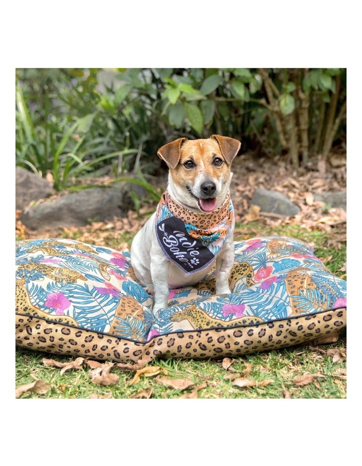 Leopard Luxe  MEDIUM Dog Bed image 4