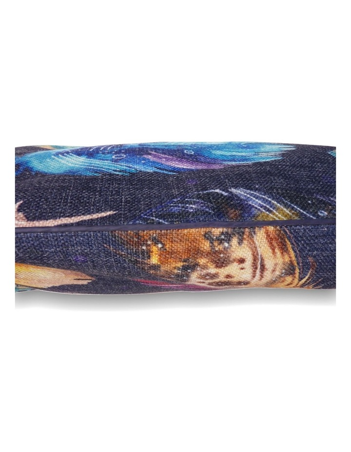 Feather Scatter Indigo  LARGE Pet Bed image 2