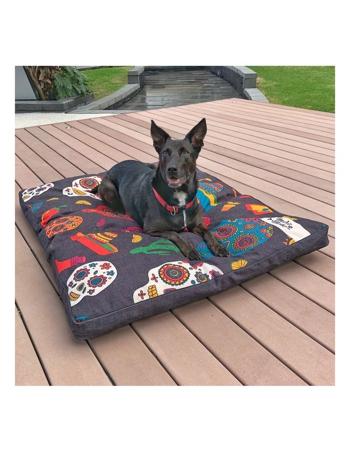 Mexican Skulls  XXL Dog Bed image 4