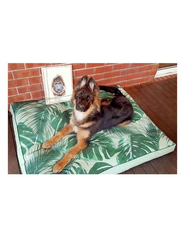 Tropical Leaves  XXL Dog Bed image 4