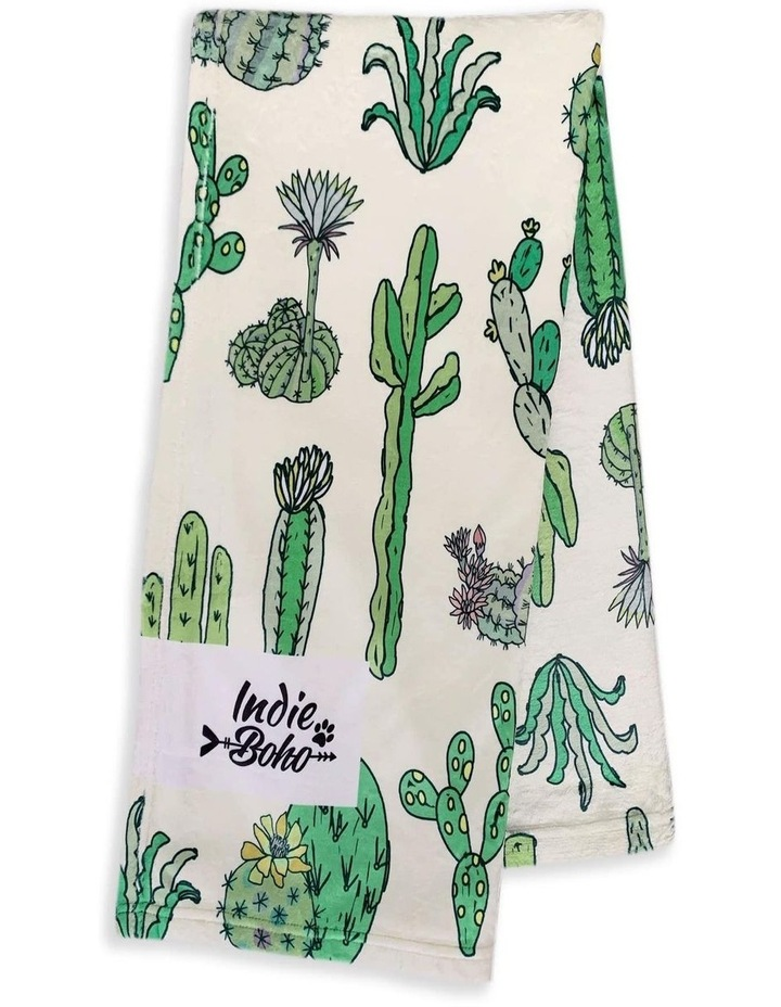 Cactus Fusion - Designer Pet Blanket image 1